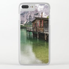 Lake house Clear iPhone Case