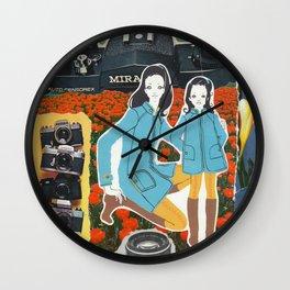 Mira Miranda Wall Clock