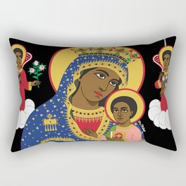 MARY AND CHRIST Rectangular Pillow