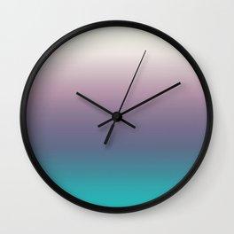Ombré Ocean Wall Clock