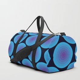 Bullseye in Blue Duffle Bag
