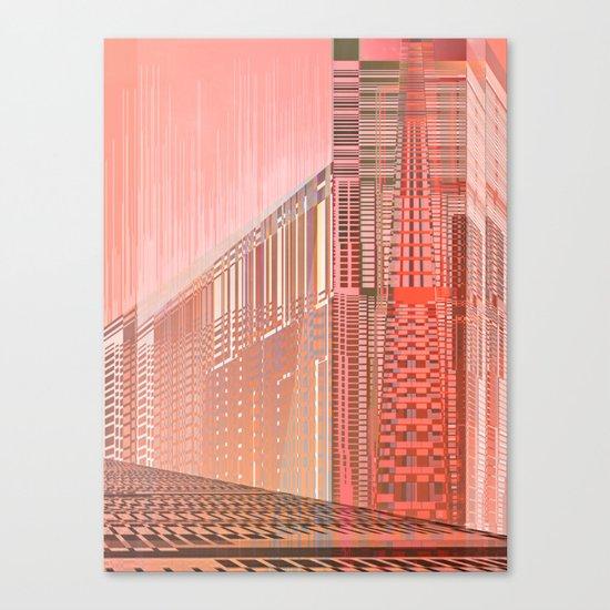 Pinky Space / URBAN 25-07-16 Canvas Print