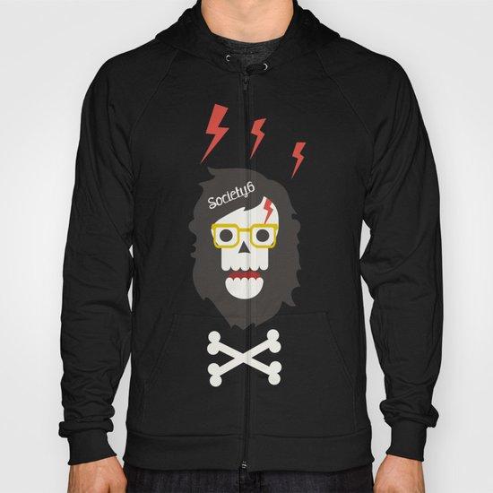 Society6 skull'n'bones Hoody