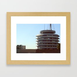 Capitol Records Framed Art Print