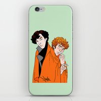 blankets iPhone & iPod Skins featuring Crash Landings and Shock Blankets by TheScienceofDepiction