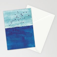 Water and Color 4 Stationery Cards