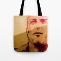 twins Tote Bags featuring Twins by Nuam