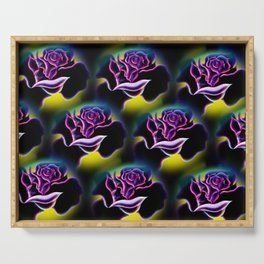 Flowers magic roses 6 Serving Tray