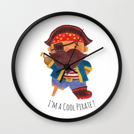Cool Pirate Wall Clock