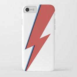 Bowie Bolt iPhone Case