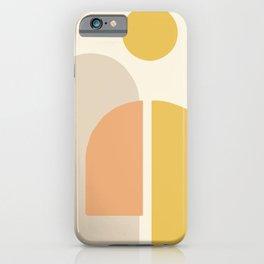 Geometric abstract minimal #shapes #geometric iPhone Case