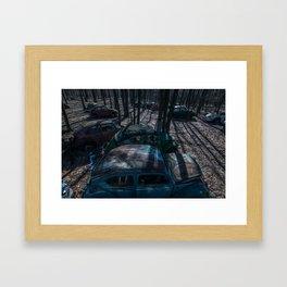 Dead Bugs Framed Art Print