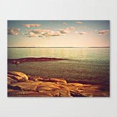 copper shore Canvas Print
