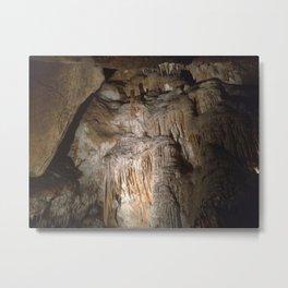 Tasmania Caves From Below Metal Print