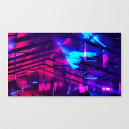 iDeal - Firefly LaserLights Canvas Print