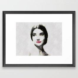 maria callas Framed Art Print