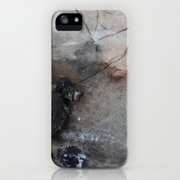 Remnants of a Campfire iPhone Case