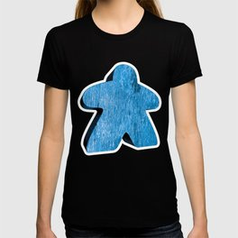 Giant Blue Meeple T-shirt