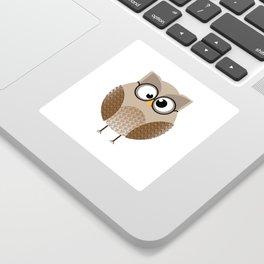 OWL KNOWS EVERYTHING Sticker