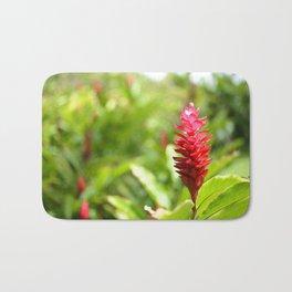 Hawaiian Red Ginger Bath Mat