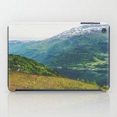 norwegian west iPad Case