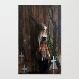 OOla mourning Canvas Print