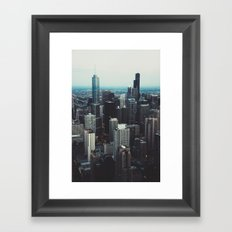 'All the way up!' Framed Art Print