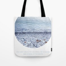 Standing and Staring Tote Bag