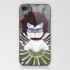 Cat Pianist iPhone & iPod Skin