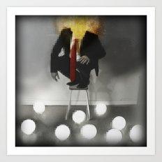Mr. Glitch: Fear the Light Art Print