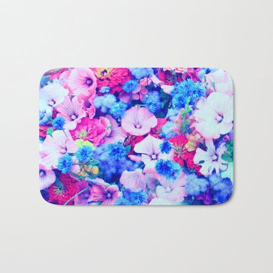 Flowers 1 Bath Mat