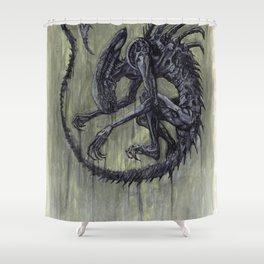 Xenomorph Shower Curtain