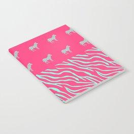 Pink zebra mix Notebook