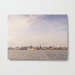 New York City - Skyline Cityscape Metal Print