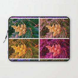 Sideways Sumac Collage Laptop Sleeve