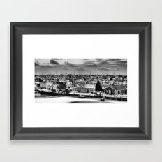 seaside Framed Art Print