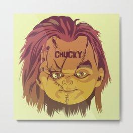 CHUCKY Metal Print