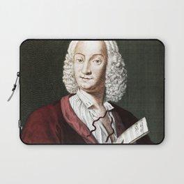 Antonio Vivaldi (1678-1741) by Morellon de la Cave in 1725 Laptop Sleeve
