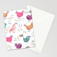 Bird Nests Stationery Cards