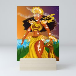Oshun Mini Art Print