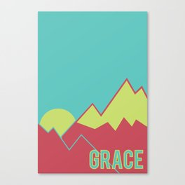 What Are We For: Grace Canvas Print
