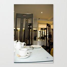 Buchanan Tea Room Canvas Print