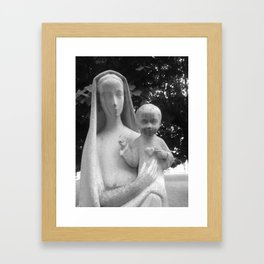 In the Sacred Heart  Framed Art Print