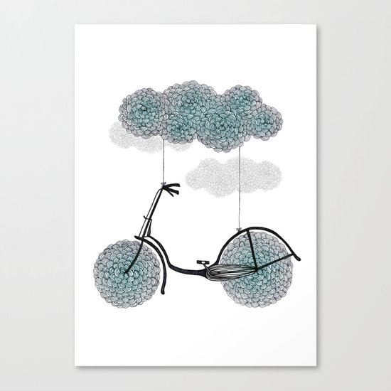 Ride Or Fly Canvas Print