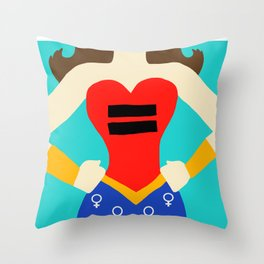 Equality - Women's Rights Throw Pillow