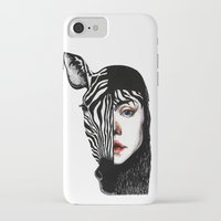 twins iPhone & iPod Cases featuring Twins by SilviaGancheva