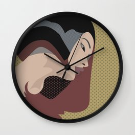 A red-haired woman9 Wall Clock