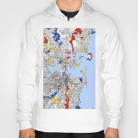 sydney Hoodies featuring Sydney by Mondrian Maps