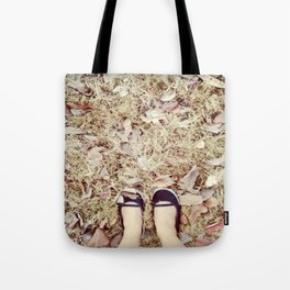 TRACK AND TRAIL Tote Bag