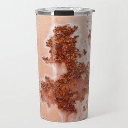 Artistic rust pattern on old paint Travel Mug
